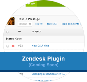 Zendesk Plugin (Coming Soon)